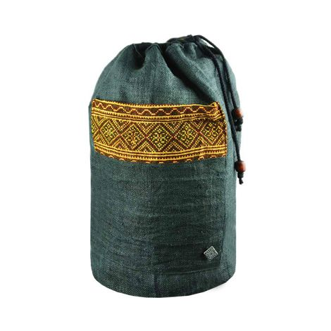 virblatt Hemp backpack Freiheit black