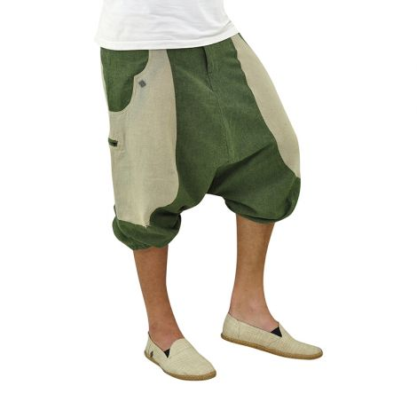 Cropped Harem Pants Kleine Frohnatur green