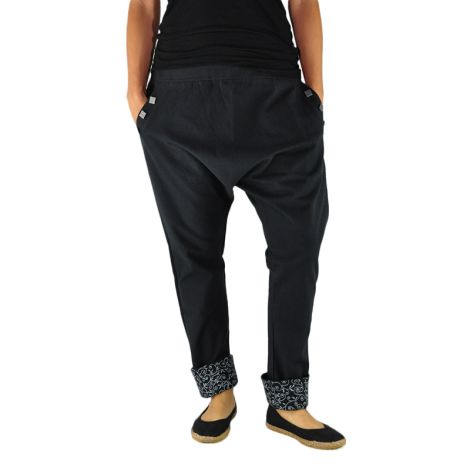 Harem pants Pai black
