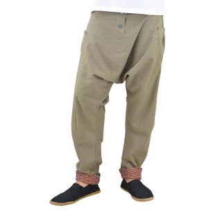 Harem pants Freudentanz grey-brown