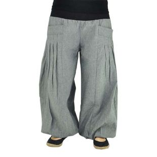 Flare Pants Yogazeit grey